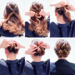 結婚式 アップスタイル オフィス ヘアアレンジ ヘアスタイルや髪型の写真・画像