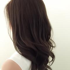 セミロング アッシュ ナチュラル 3Dカラー ヘアスタイルや髪型の写真・画像
