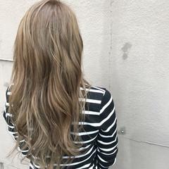ダブルカラー 外国人風カラー 透明感 秋 ヘアスタイルや髪型の写真・画像