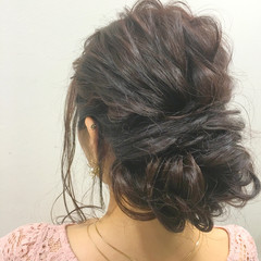 大人女子 ヘアアレンジ 外国人風 ロング ヘアスタイルや髪型の写真・画像