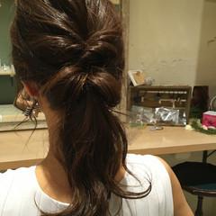 ヘアアレンジ セミロング 大人女子 ショート ヘアスタイルや髪型の写真・画像