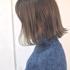 ゆるふわ 切りっぱなし アンニュイ グラデーションカラー ヘアスタイルや髪型の写真・画像