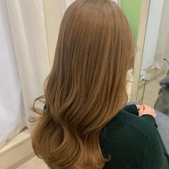 ガーリー ブリーチ 透明感カラー ロング ヘアスタイルや髪型の写真・画像