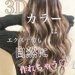 ハイトーンカラー ハイトーン ホワイトハイライト ハイライト ヘアスタイルや髪型の写真・画像