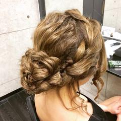 ロング 成人式 エレガント 結婚式 ヘアスタイルや髪型の写真・画像
