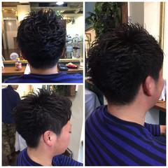 ストリート 黒髪 刈り上げ ショート ヘアスタイルや髪型の写真・画像