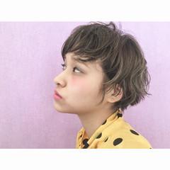 外国人風 ローライト アッシュ ガーリー ヘアスタイルや髪型の写真・画像