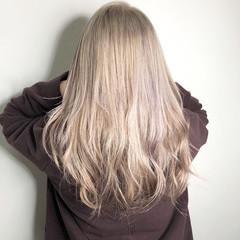 トレンド 透明感 セミロング 外国人風カラー ヘアスタイルや髪型の写真・画像
