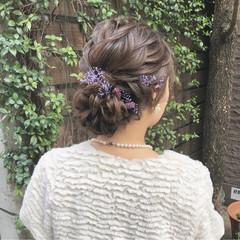 大人かわいい ヘアアレンジ エレガント アンニュイほつれヘア ヘアスタイルや髪型の写真・画像