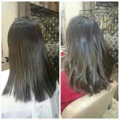 フェミニン 外国人風 グラデーションカラー ガーリー ヘアスタイルや髪型の写真・画像
