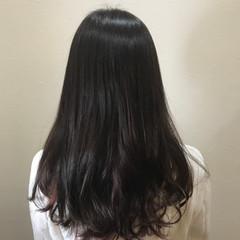 ラベンダーアッシュ パープル ストリート ロング ヘアスタイルや髪型の写真・画像