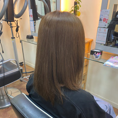 艶髪 ミルクティーベージュ ミルクティー ミルクティーアッシュ ヘアスタイルや髪型の写真・画像