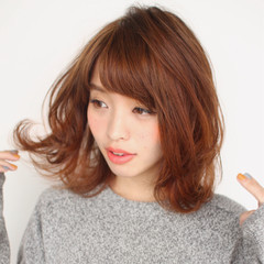 大人女子 ナチュラル ロブ 大人かわいい ヘアスタイルや髪型の写真・画像