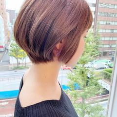 ショートヘア ショート オフィス デート ヘアスタイルや髪型の写真・画像