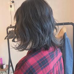 ハイライト ナチュラル ボブ アンニュイ ヘアスタイルや髪型の写真・画像