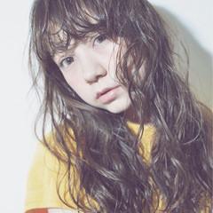 ショート ストレート ガーリー ロング ヘアスタイルや髪型の写真・画像
