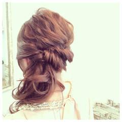 外国人風 大人かわいい ヘアアレンジ パーティ ヘアスタイルや髪型の写真・画像