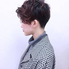 ストリート 大人女子 暗髪 ウェットヘア ヘアスタイルや髪型の写真・画像