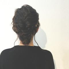 外国人風 ショート ヘアアレンジ ゆるふわ ヘアスタイルや髪型の写真・画像