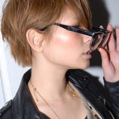 ハイトーン ストリート ブリーチ ショート ヘアスタイルや髪型の写真・画像