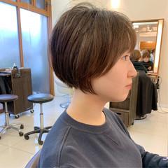 可愛い ナチュラル ショートヘア ふんわりショート ヘアスタイルや髪型の写真・画像