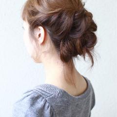 ヘアアレンジ 結婚式 大人女子 二次会 ヘアスタイルや髪型の写真・画像