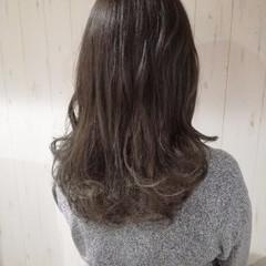 透明感 ナチュラル 外国人風カラー アッシュグレー ヘアスタイルや髪型の写真・画像