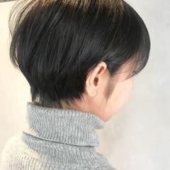 ナチュラル 小顔 ショート バレンタイン ヘアスタイルや髪型の写真・画像