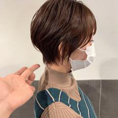 ショート ショートヘア ハンサムショート マッシュショート ヘアスタイルや髪型の写真・画像