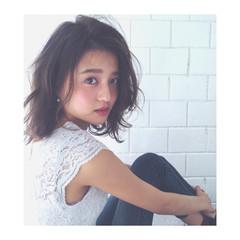 色気 フェミニン ナチュラル かっこいい ヘアスタイルや髪型の写真・画像