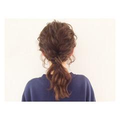 ショート ストリート ヘアアレンジ 簡単ヘアアレンジ ヘアスタイルや髪型の写真・画像