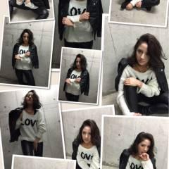 モード ロング 暗髪 ヘアスタイルや髪型の写真・画像