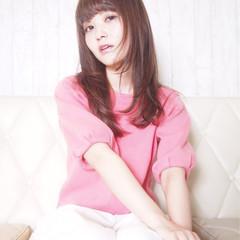 フェミニン 透明感 大人かわいい ピュア ヘアスタイルや髪型の写真・画像