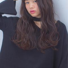 黒髪 ストリート ミディアム 暗髪 ヘアスタイルや髪型の写真・画像