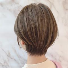 ハンサムショート ナチュラル可愛い ショート 大人女子 ヘアスタイルや髪型の写真・画像