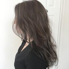 透明感 イルミナカラー ナチュラル ハイライト ヘアスタイルや髪型の写真・画像