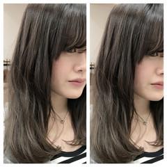 ロング ブラウン 渋谷系 グラデーションカラー ヘアスタイルや髪型の写真・画像