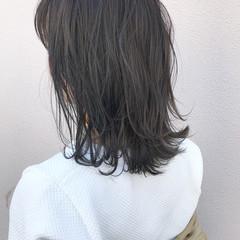 ハイライト ナチュラル 外ハネ ボブ ヘアスタイルや髪型の写真・画像