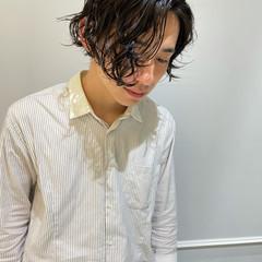 ショート スパイラルパーマ メンズパーマ パーマ ヘアスタイルや髪型の写真・画像