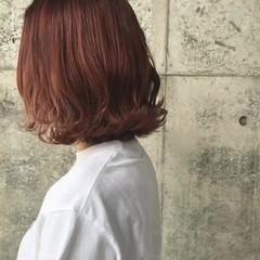 ピンク ナチュラル デート ベージュ ヘアスタイルや髪型の写真・画像