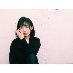 色気 ナチュラル 黒髪 暗髪 ヘアスタイルや髪型の写真・画像
