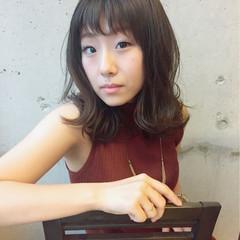 アッシュ 外国人風 大人かわいい ナチュラル ヘアスタイルや髪型の写真・画像