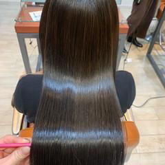 髪質改善カラー ロングヘア 髪質改善トリートメント ナチュラル ヘアスタイルや髪型の写真・画像