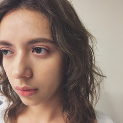 ミディアム かっこいい モード ゆるふわ ヘアスタイルや髪型の写真・画像