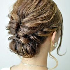 デート 大人かわいい 結婚式 ミディアム ヘアスタイルや髪型の写真・画像