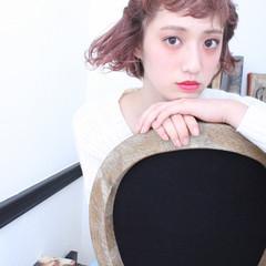ショート 外国人風 色気 簡単ヘアアレンジ ヘアスタイルや髪型の写真・画像