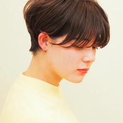 ハンサムショート マッシュショート ショートヘア ショート ヘアスタイルや髪型の写真・画像