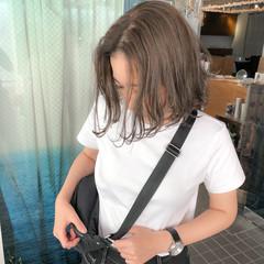 ストリート ボブ グレージュ くすみカラー ヘアスタイルや髪型の写真・画像