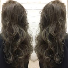 ナチュラル 外国人風 暗髪 グラデーションカラー ヘアスタイルや髪型の写真・画像