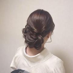 ヘアアレンジ パーティー 卒業式 結婚式 ヘアスタイルや髪型の写真・画像